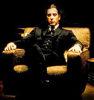 Al Pacino as Michael of the trilogy