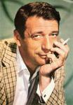 Photo: Yves Montand. French actor and singer