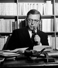 Photo - Jean-paul Sartre