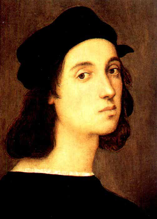 raffaello sanzio da urbino ↑ variants also include raffaello santi, raffaello da urbino or rafael sanzio da urbino the surname sanzio derives from the latinization of the italian santi into.