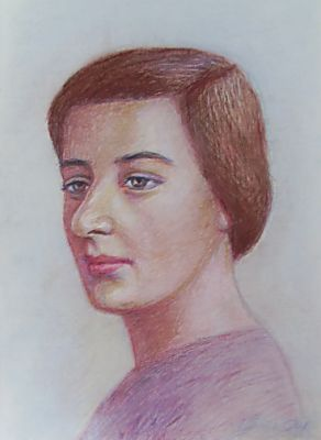 Portrait of Golda